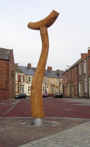 Street Sculpture at North Shields, #1